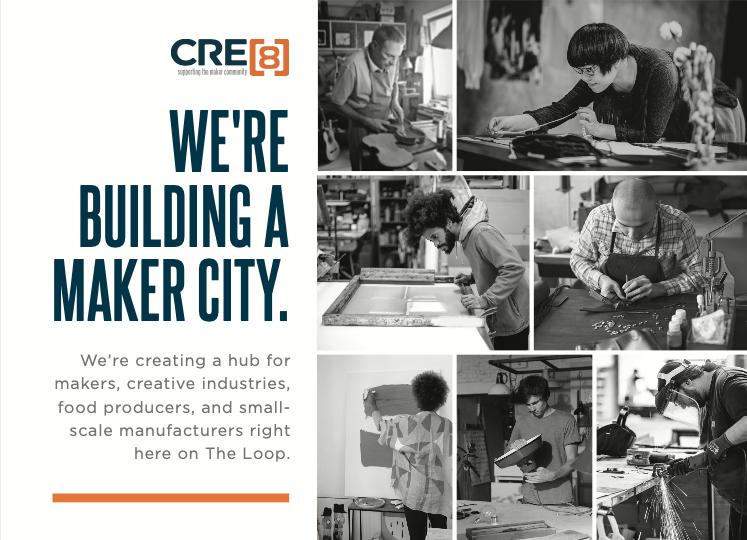 CRE[8] Maker City Brand